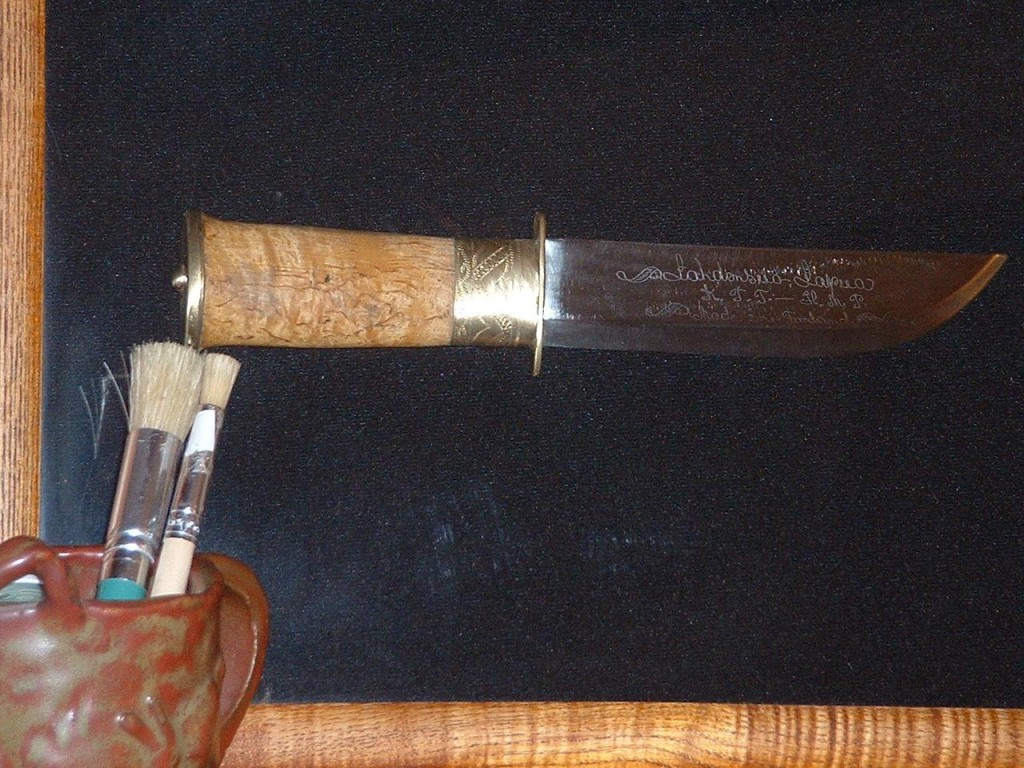 Knife as a Finnish tradition