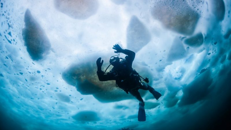 Diving in Finland